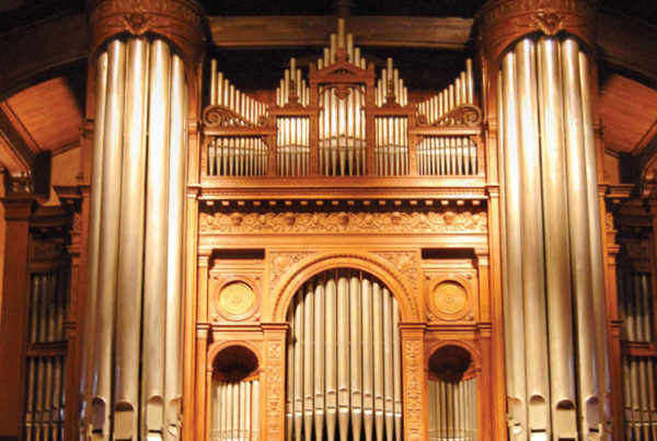 first church congregational organ pipes