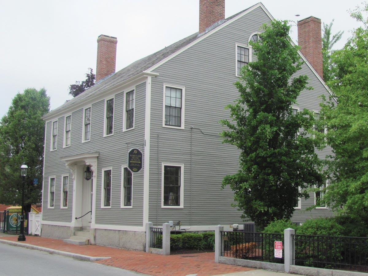 Whistler House Lowell
